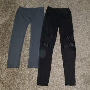 Pants - 2 pairs of leggings one size fits most